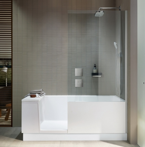 Duravit Walk-in douche en bad
